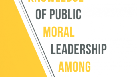 Developing knowledge of Public Moral Leadership among Teachers